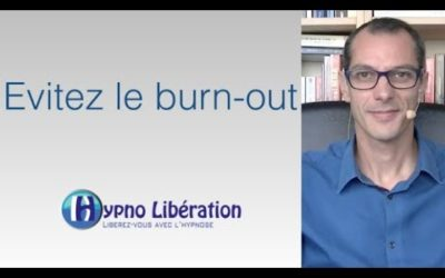 Evitez le burn-out